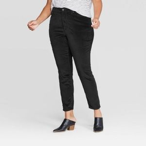 Universal Thread High-Rise Velvet Skinny Jeans